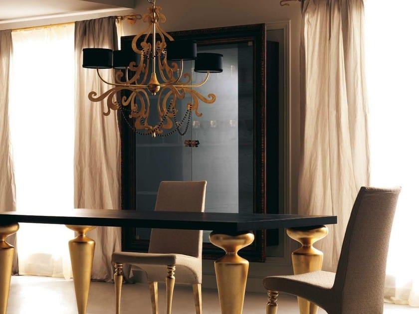 Lacquered wooden display cabinet GRETA by CorteZari
