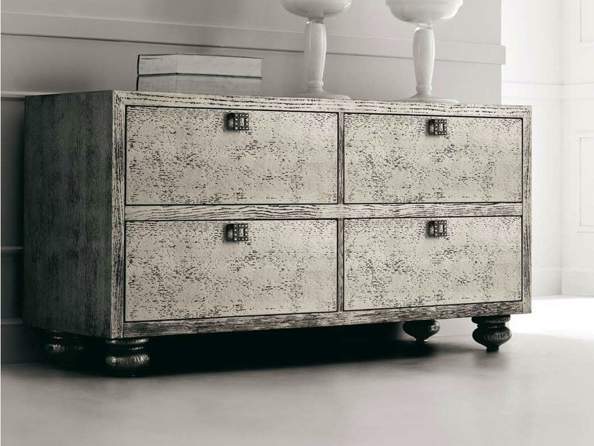 Wooden chest of drawers KEOPE-KRISTAL by CorteZari