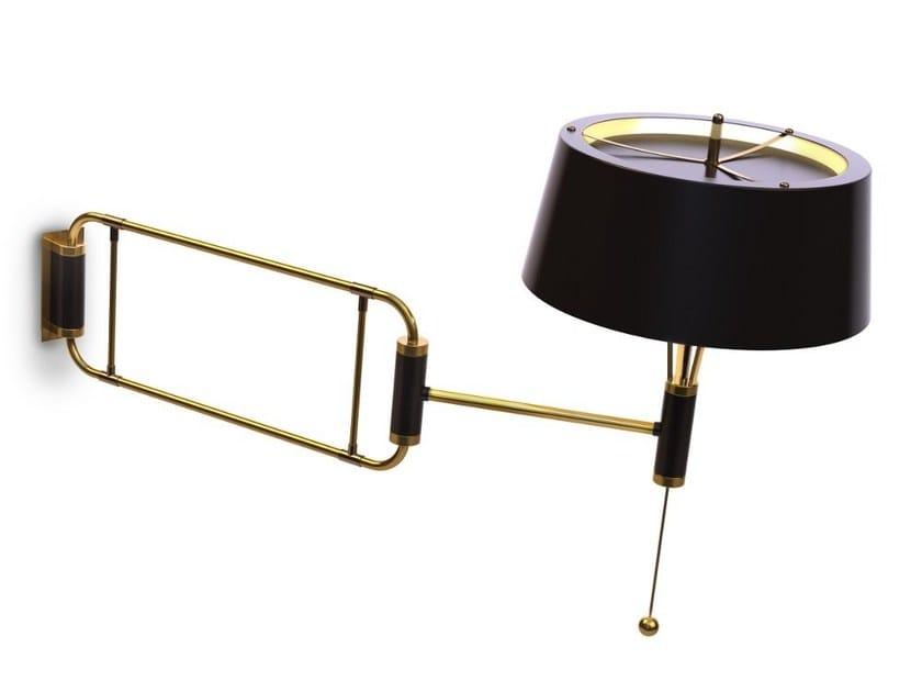 Lampada da parete orientabile con braccio flessibile MILES   Lampada da parete by Delightfull