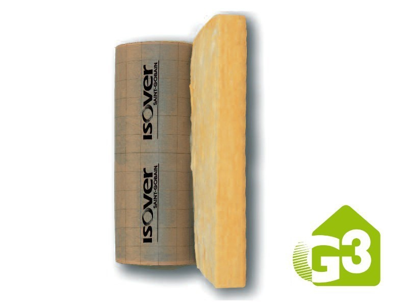 Glass wool thermal insulation felt IBR G3 by Saint-Gobain ISOVER