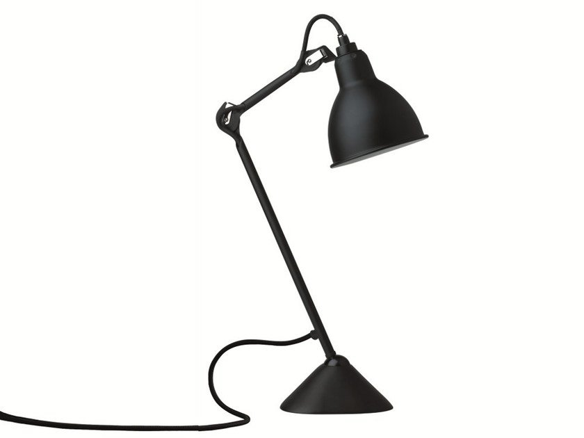 With swing arm table lamp N°205 | Table lamp by DCW éditions