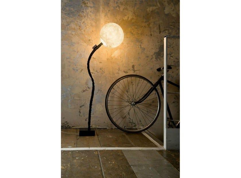 Adjustable Nebulite® floor lamp MICRO LUNA   Floor lamp by In-es.artdesign
