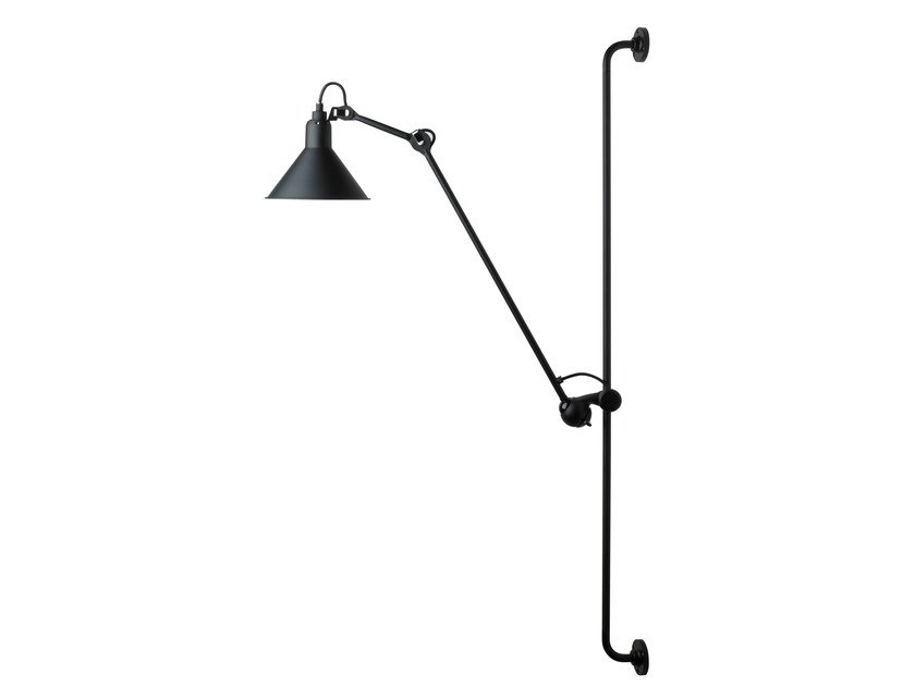 Adjule Wall Lamp With Swing Arm N 214 By Dcw éditions