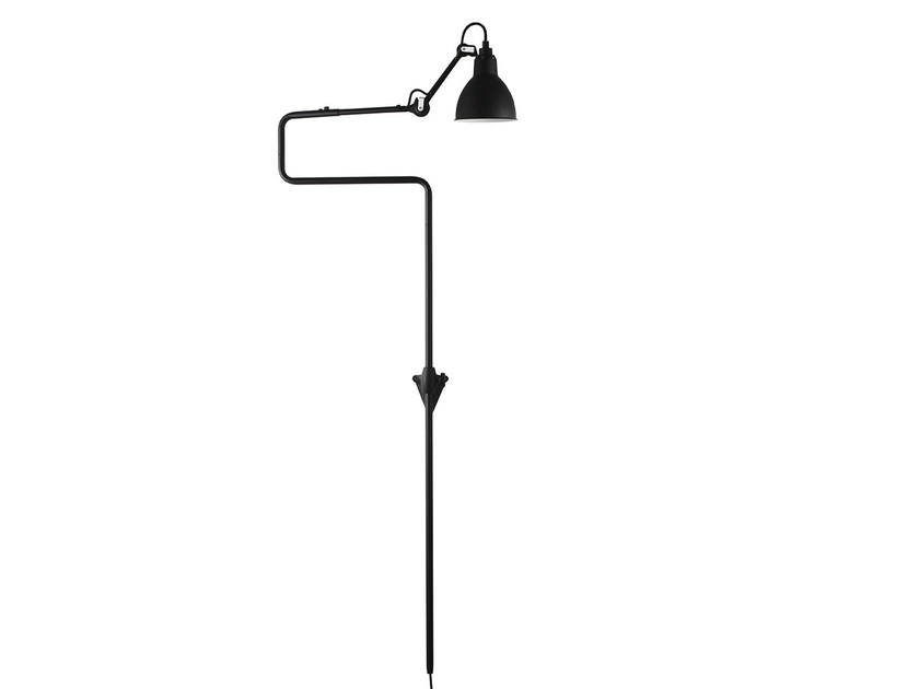 Adjustable wall lamp with swing arm N°217 | Wall lamp by DCW éditions