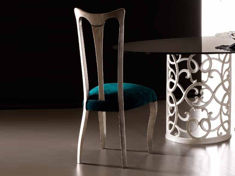 Upholstered fabric chair ANTARES by CorteZari