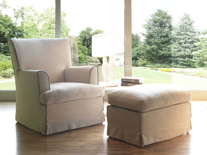 Armchair with armrests MARY by Bodema