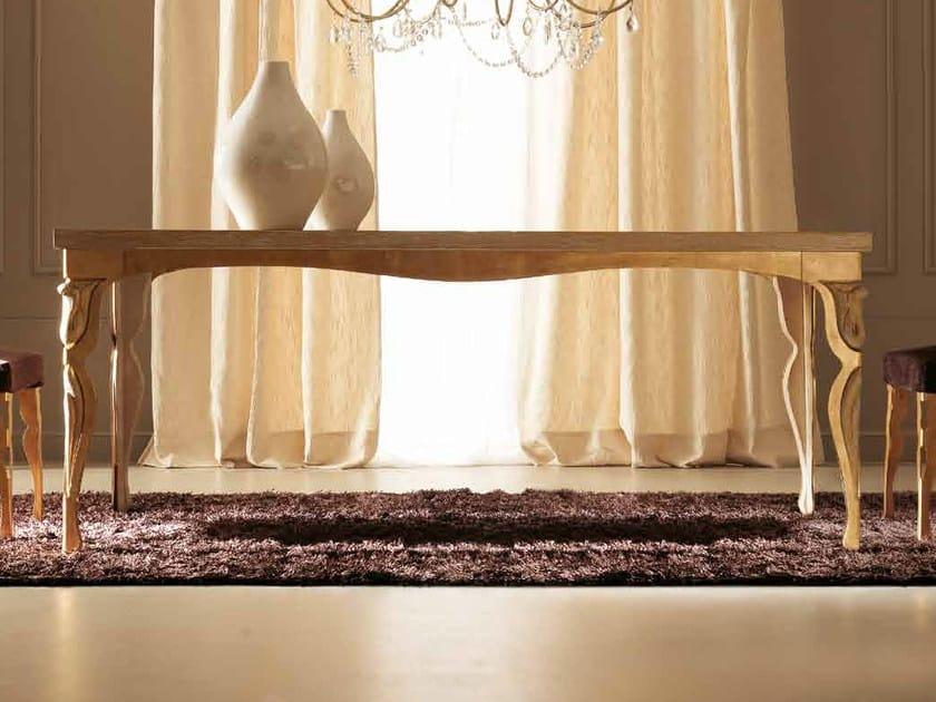 Rectangular wooden table ERIKA by CorteZari