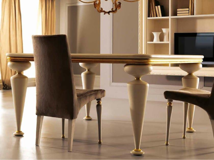 Square dining table ORIONE by CorteZari
