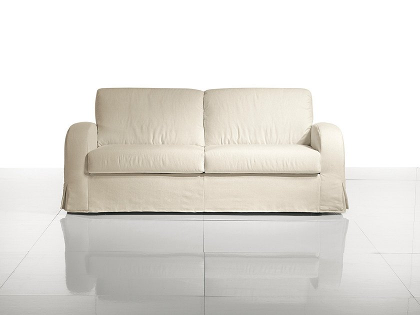 2 seater fabric sofa bed SIMPLY CLASSIC by Bodema
