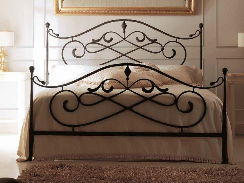 Wrought iron double bed ARTÙ by CorteZari