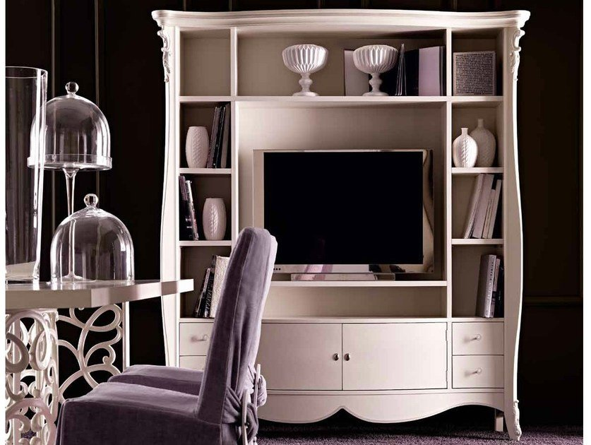 TV cabinet with shelves MELISSA by CorteZari