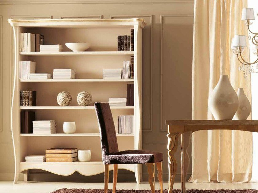Open freestanding bookcase SOFIA by CorteZari