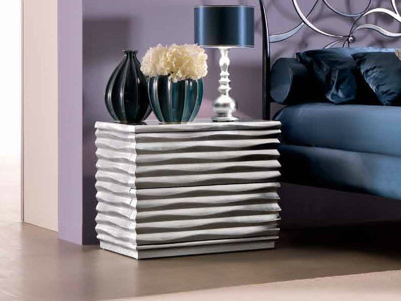 Bedside table with drawers EBON by CorteZari