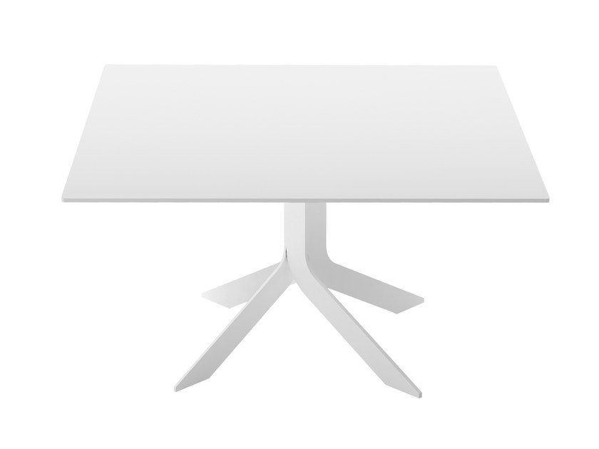 Square MDF table IBLEA | Square table by Desalto