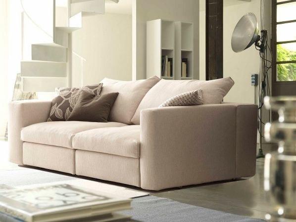 2 seater sofa bed PQUADRO by Bodema