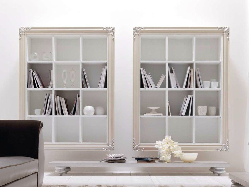 Open floating bookcase CLARA | Open bookcase by CorteZari