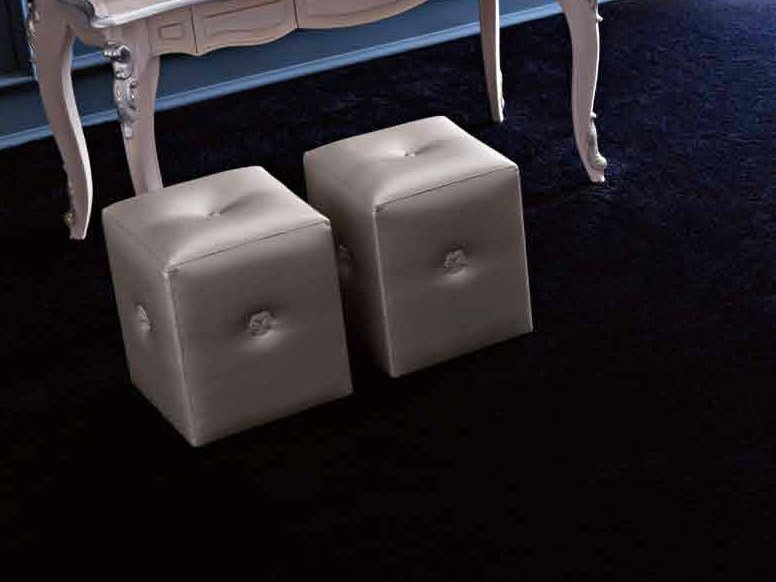 Upholstered pouf CLARA | Pouf by CorteZari