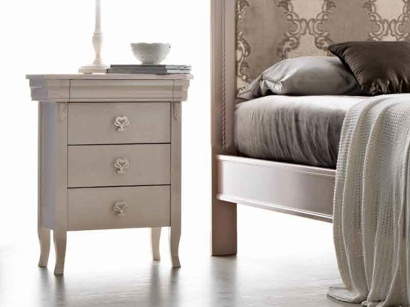 Bedside table with drawers CLARA | Bedside table by CorteZari