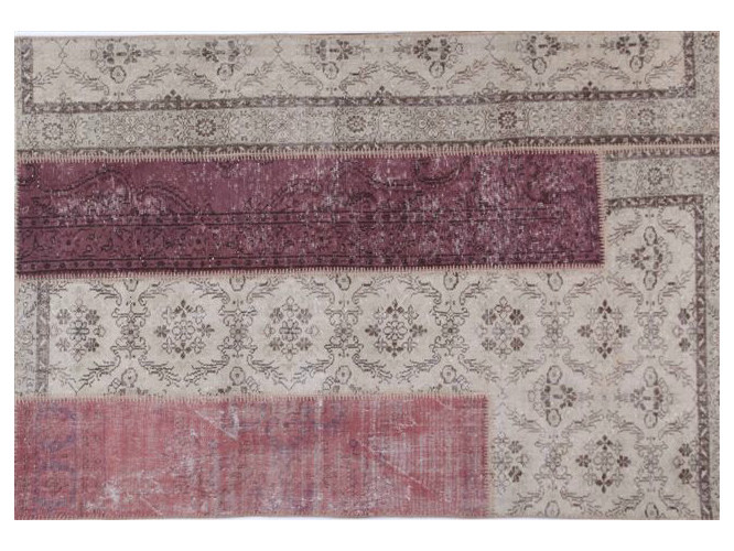 Handmade rectangular rug ONLY YOU by Sirecom Tappeti