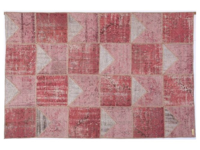 Handmade rug with geometric shapes ONLY YOU by Sirecom Tappeti
