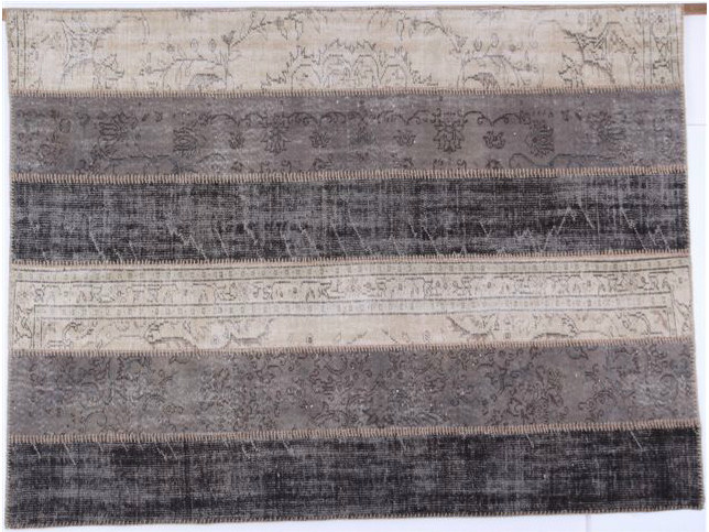 Striped handmade rug ONLY YOU by Sirecom Tappeti