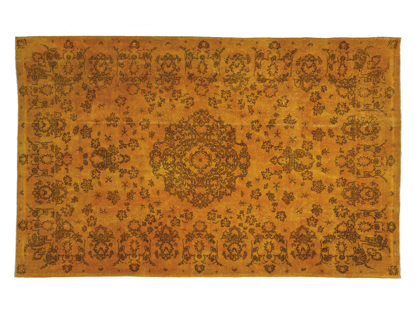 Handmade rug with floral pattern OLD | Rug with floral pattern by Sirecom Tappeti