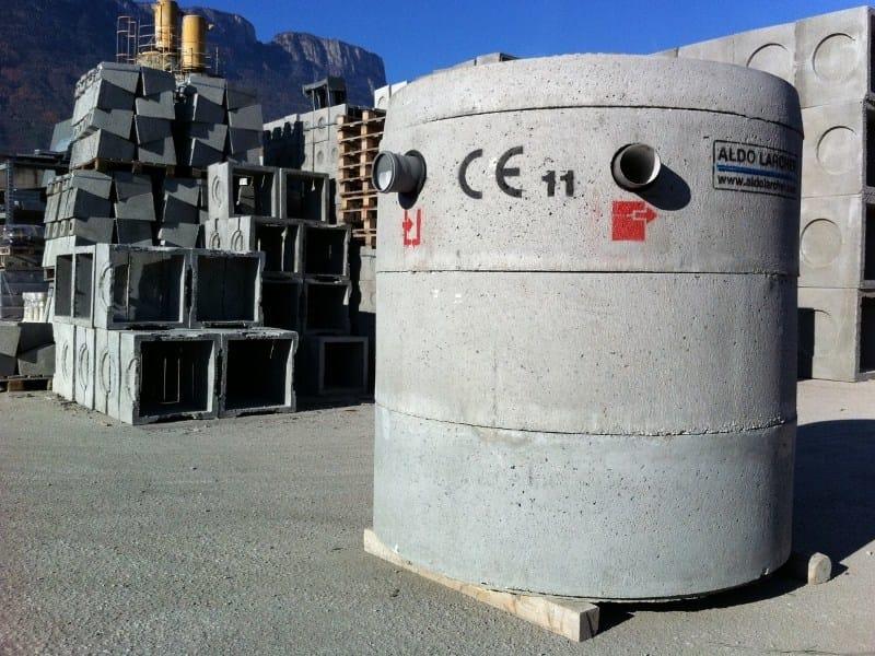 Component for liquid sewage treatment plant UNI EN 12566-1 - 3,3 m³ by ALDO LARCHER