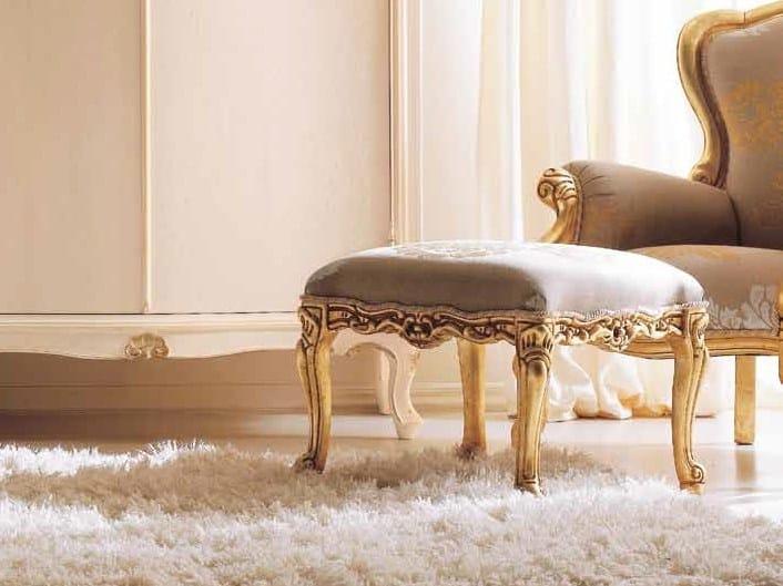 Upholstered pouf GEMMA by CorteZari