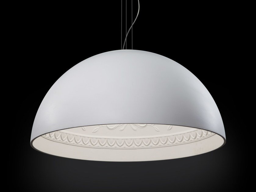 Gypsum pendant lamp CHIARODÌ | Pendant lamp by Metal Lux