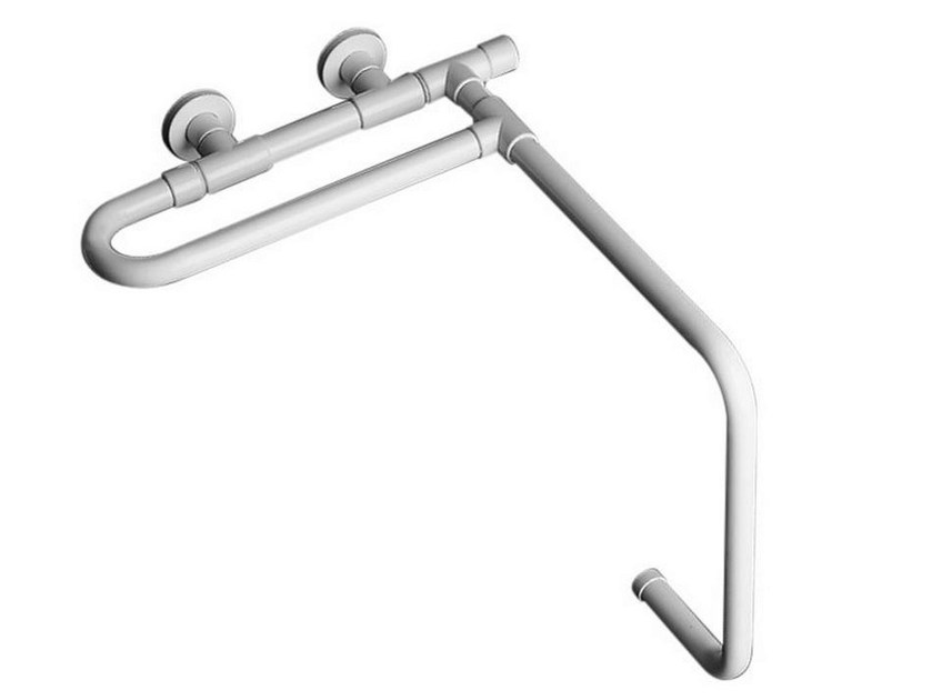 Fixed galvanized steel bathtub grab bar TUBOCOLOR | Bathtub grab bar by Ponte Giulio
