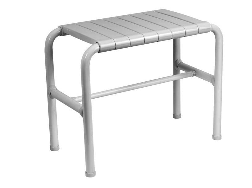 Steel bathroom stool TUBOCOLOR | Bathroom stool by Ponte Giulio
