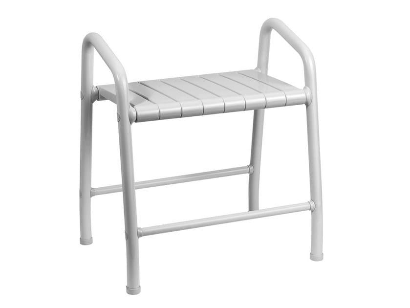 Steel bathroom stool TUBOCOLOR | Galvanized steel bathroom stool by Ponte Giulio