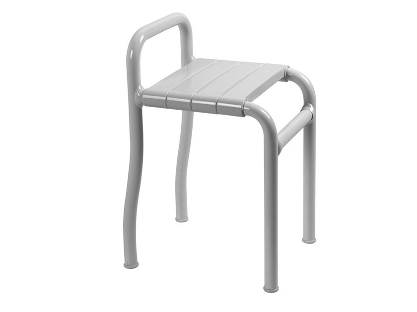 Steel bathroom stool MORPHOS | Bathroom stool by Ponte Giulio