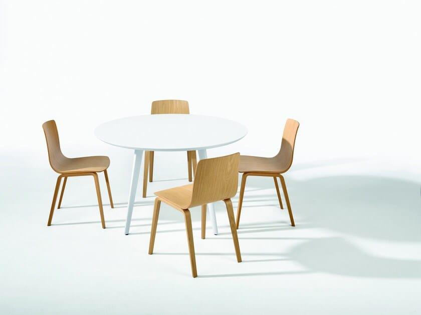 Design ergonomic multi-layer wood chair