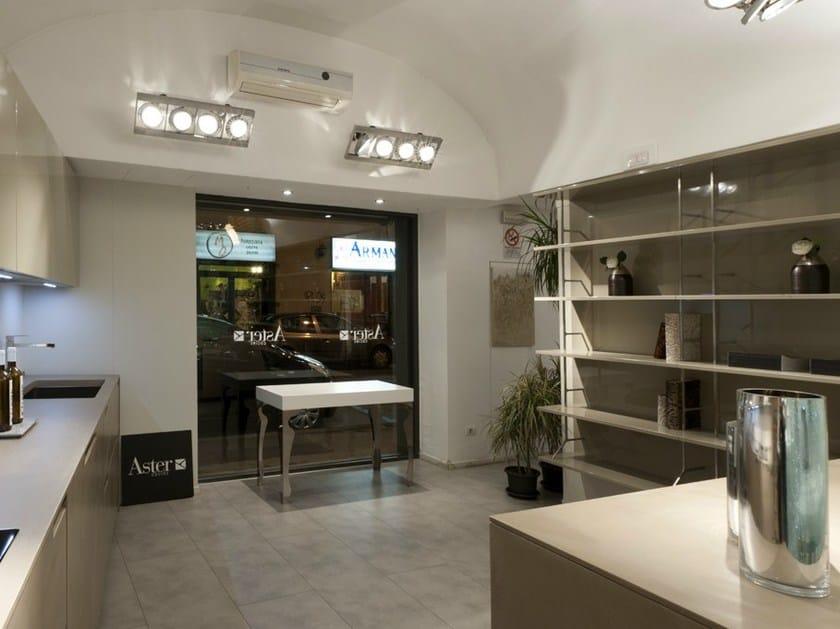 Noblesse cucina in mdf by aster cucine s p a design lorenzo granocchia - Cucine aster prezzi ...