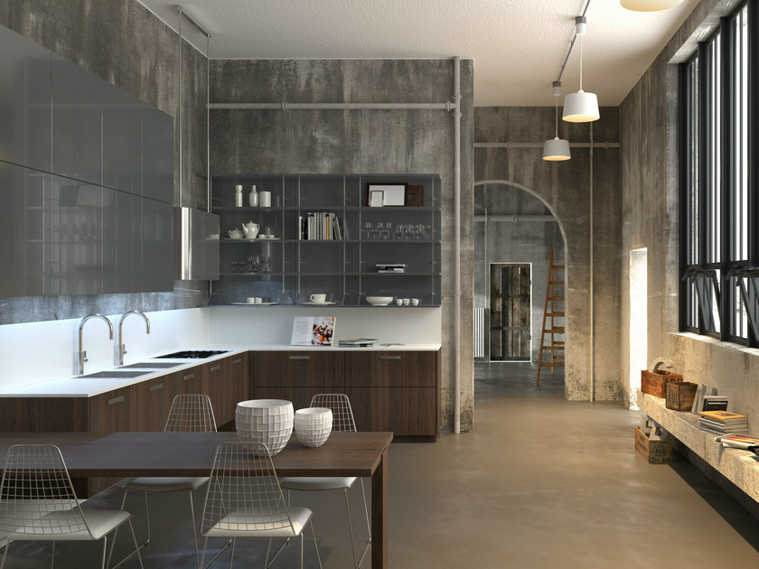 NOBLESSE | Cucina in rovere By Aster Cucine S.p.A. design Lorenzo ...