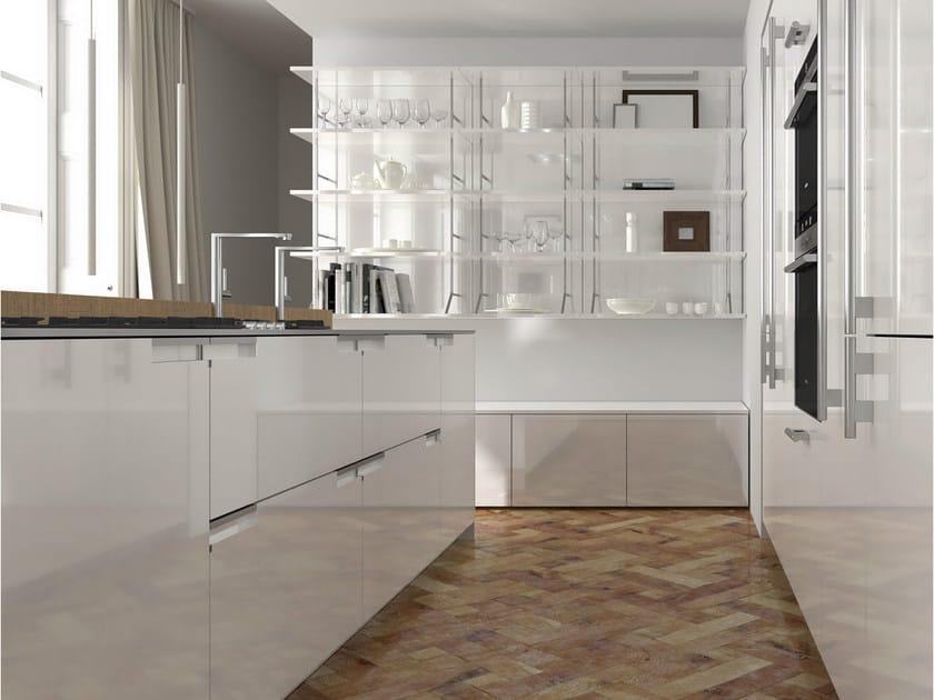 Cucina laccata in rovere noblesse cucina in rovere seghettato by aster cucine s p a design - Cucine aster prezzi ...