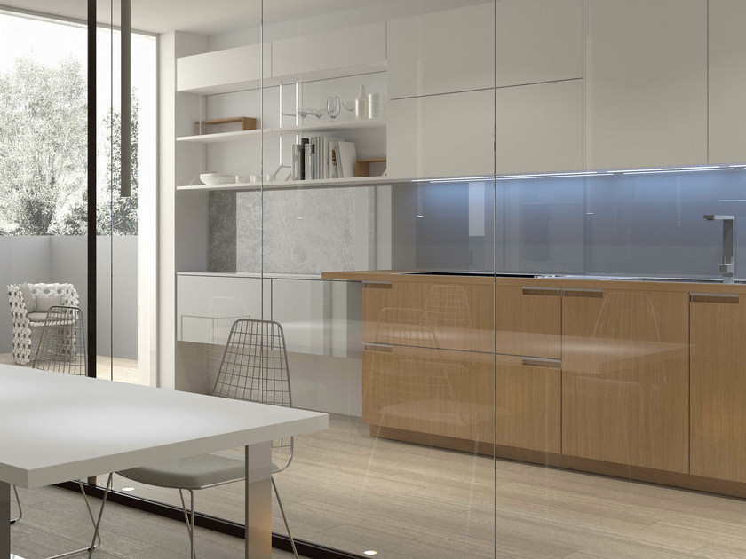 Lacquered oak kitchen NOBLESSE | Oak kitchen By Aster Cucine S.p.A. ...