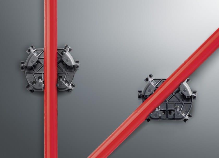 FONTERRA BASE ROLL 15 le nuove clip fissano il tubo con un interasse di 11, 22 o 33 cm. E' possibile anche la posa in diagonale.(Foto: Viega)