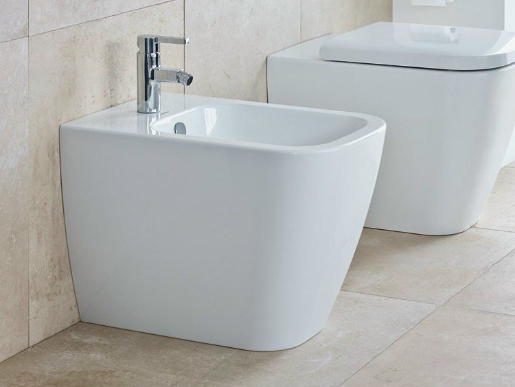 Ceramic bidet HAPPY D.2 | Bidet by Duravit