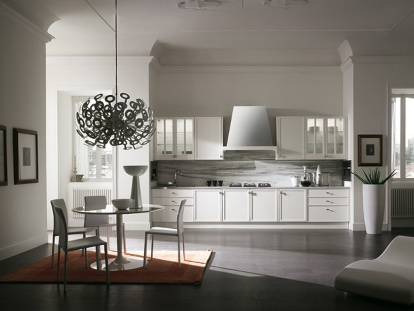 AVENUE | Lacquered kitchen By Aster Cucine S.p.A.