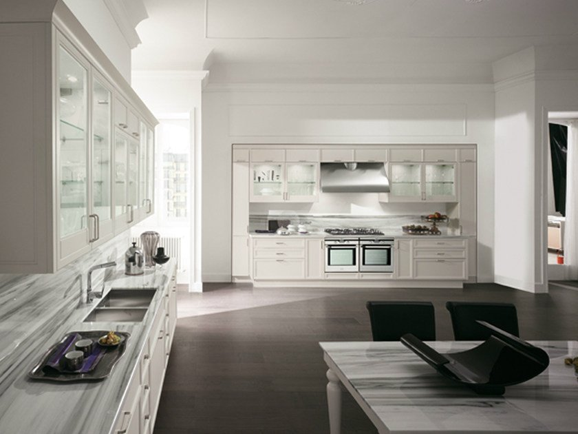 AVENUE | Linear kitchen By Aster Cucine S.p.A.
