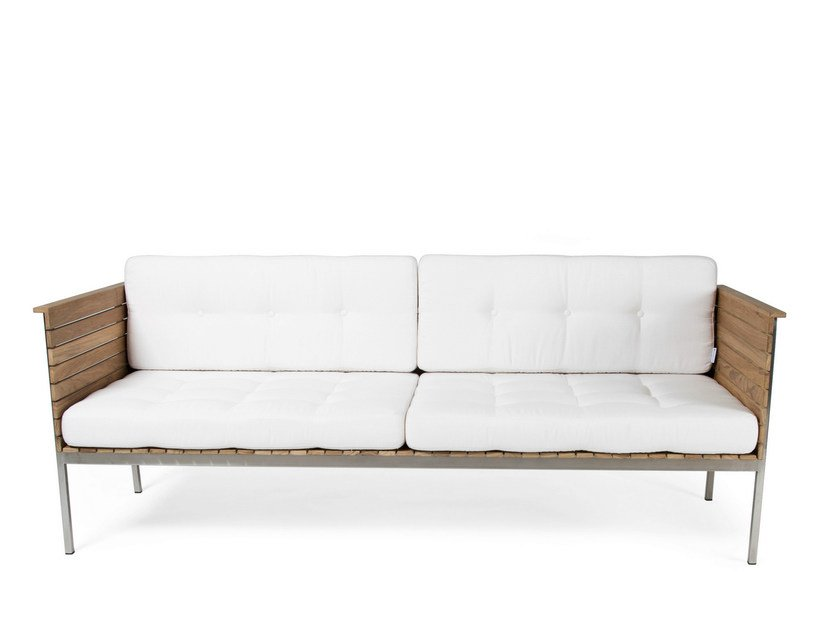 Teak garden sofa HÄRINGE | Garden sofa by Skargaarden