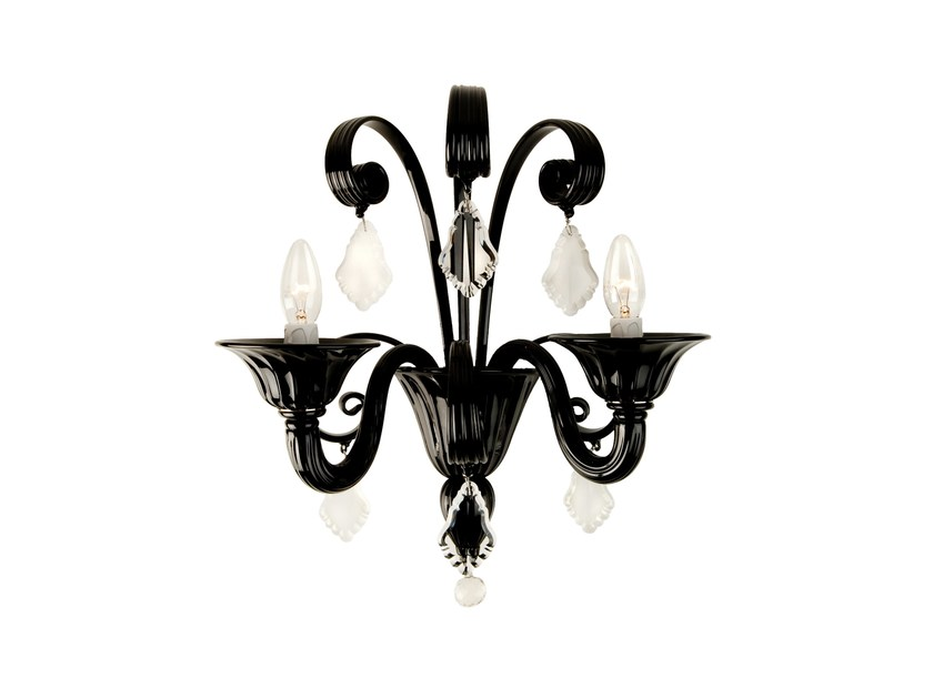 Murano glass wall light FLANELLE | Wall light by Veronese