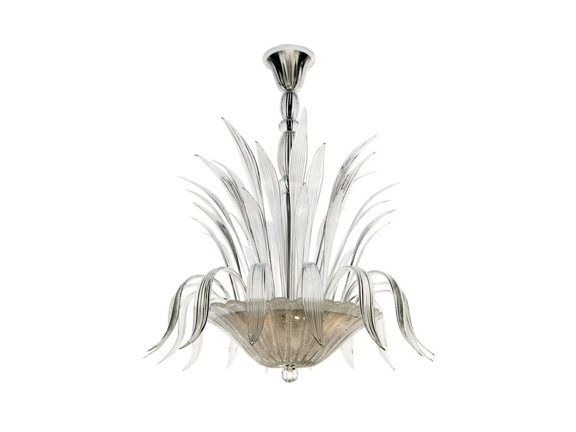 Murano glass chandelier FONTAINE by Veronese