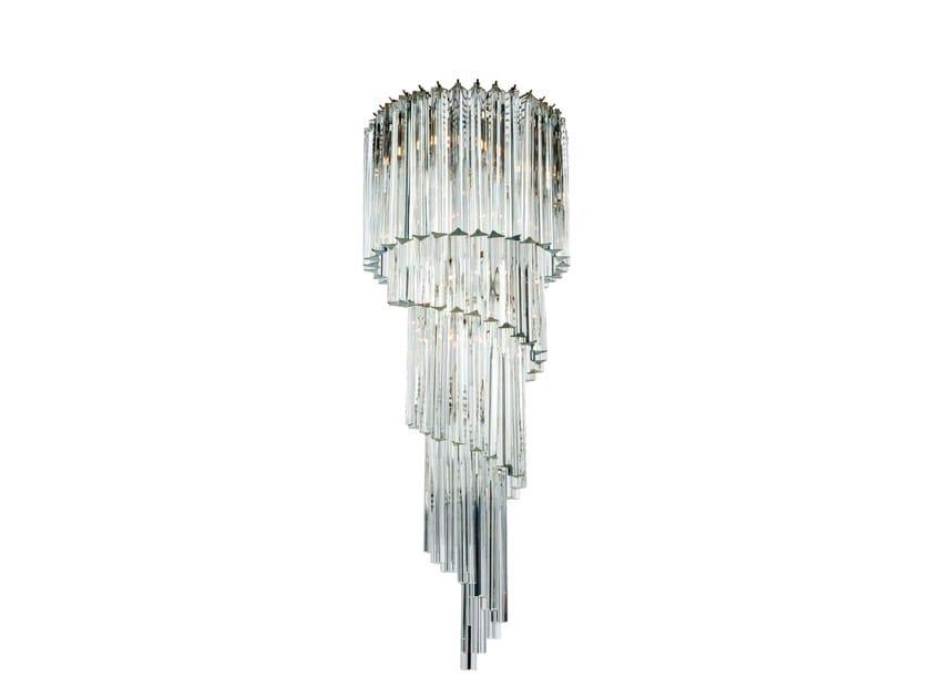 Murano glass chandelier SPIRALE by Veronese