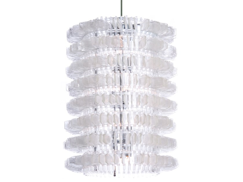 Murano glass chandelier ANEMONE 58 by Veronese