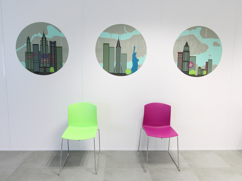 Fabric wall sticker NEW YORK CITY by CONCEPTUWALL