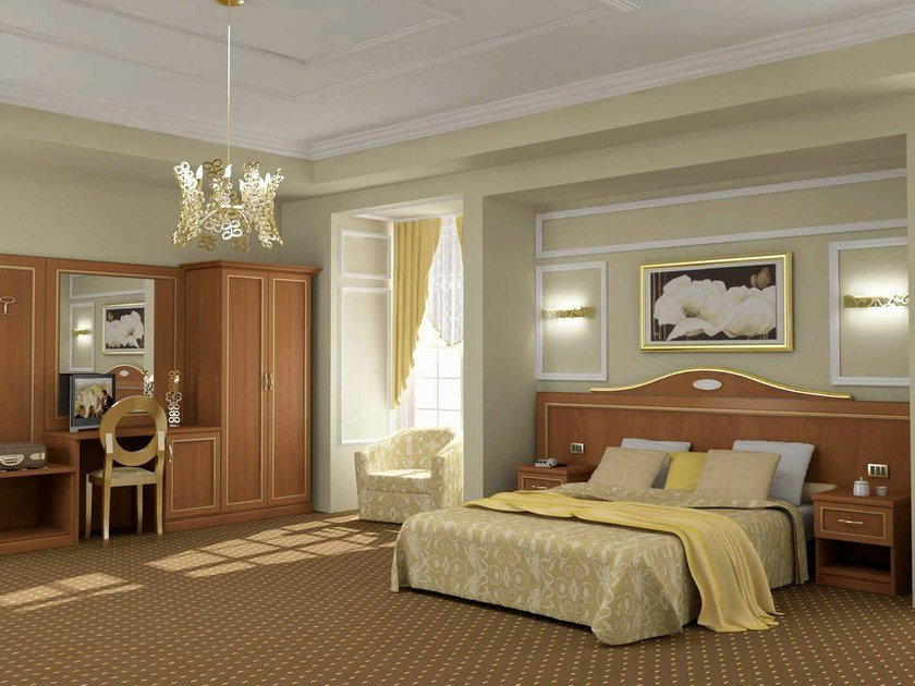 Classic style Hotel bedroom CLEAR | Hotel bedroom by Mobilspazio