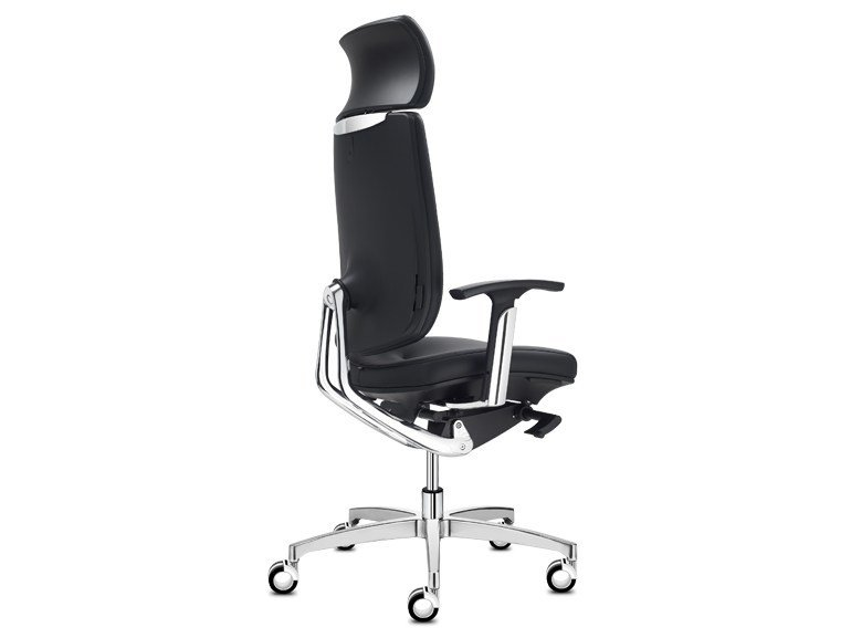 Executive chair with 5-spoke base with headrest SPIRIT | Executive chair by SitLand